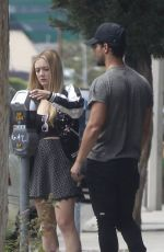 Billie Lourd Shopping in LA