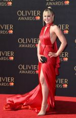 Camilla Kerslake At Olivier Awards in London