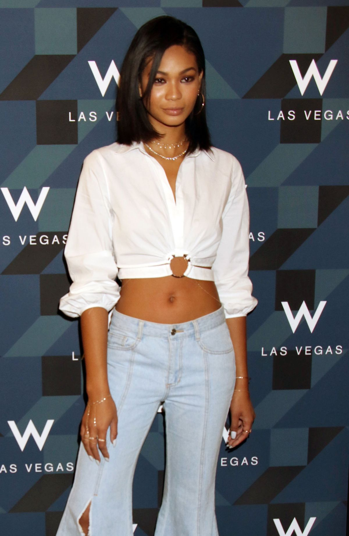 Chanel Iman At W Las Vegas hosts Grand Opening Celebration