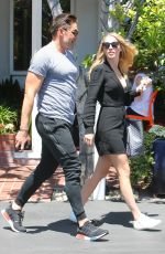 Claire Holt Out to lunch in West Hollywood