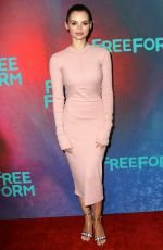 Eline Powell At 2017 Freeform Upfront in New York