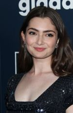Emily Robinson At 28th Annual GLAAD Media Awards in Los Angeles