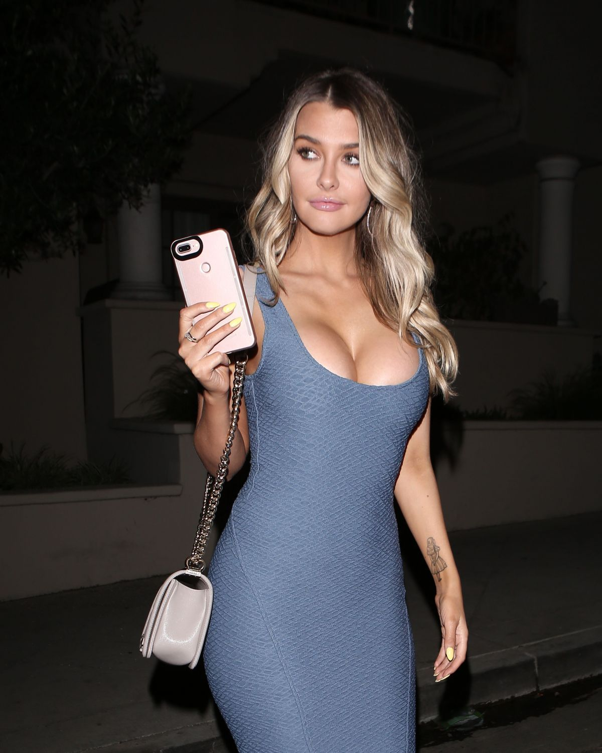 Emily Sears At Night Out in West Hollywood - Celebzz