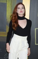 Emily Tyra At National Geographic's Genius Premiere in Los Angeles