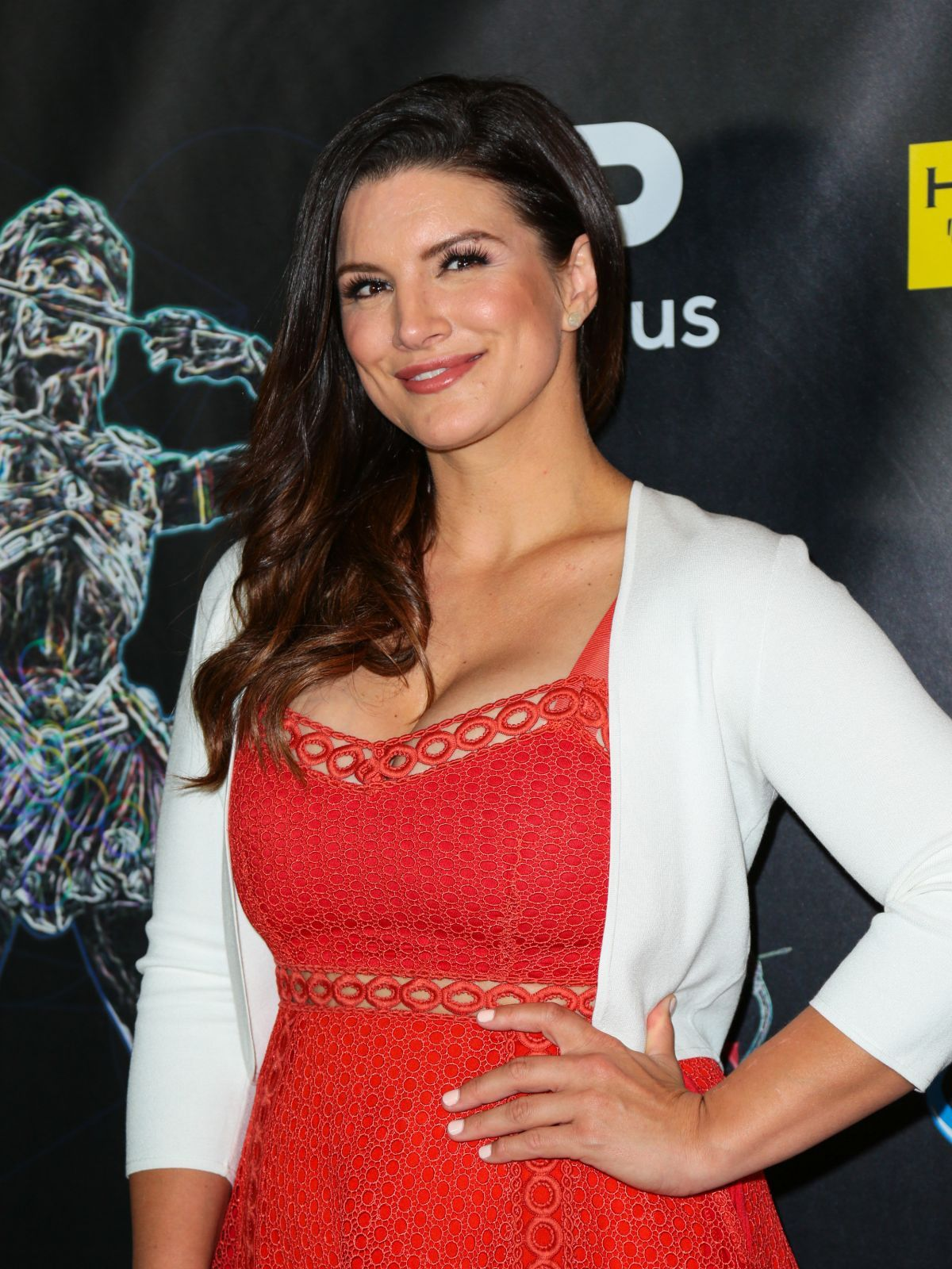 Gina Carano At Artemis Women in Action Film Festival Gala ...