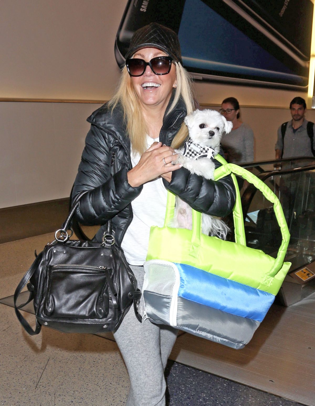 Heather Locklear At LAX
