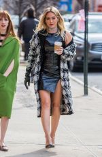 Hilary Duff On the set of Younger in NY