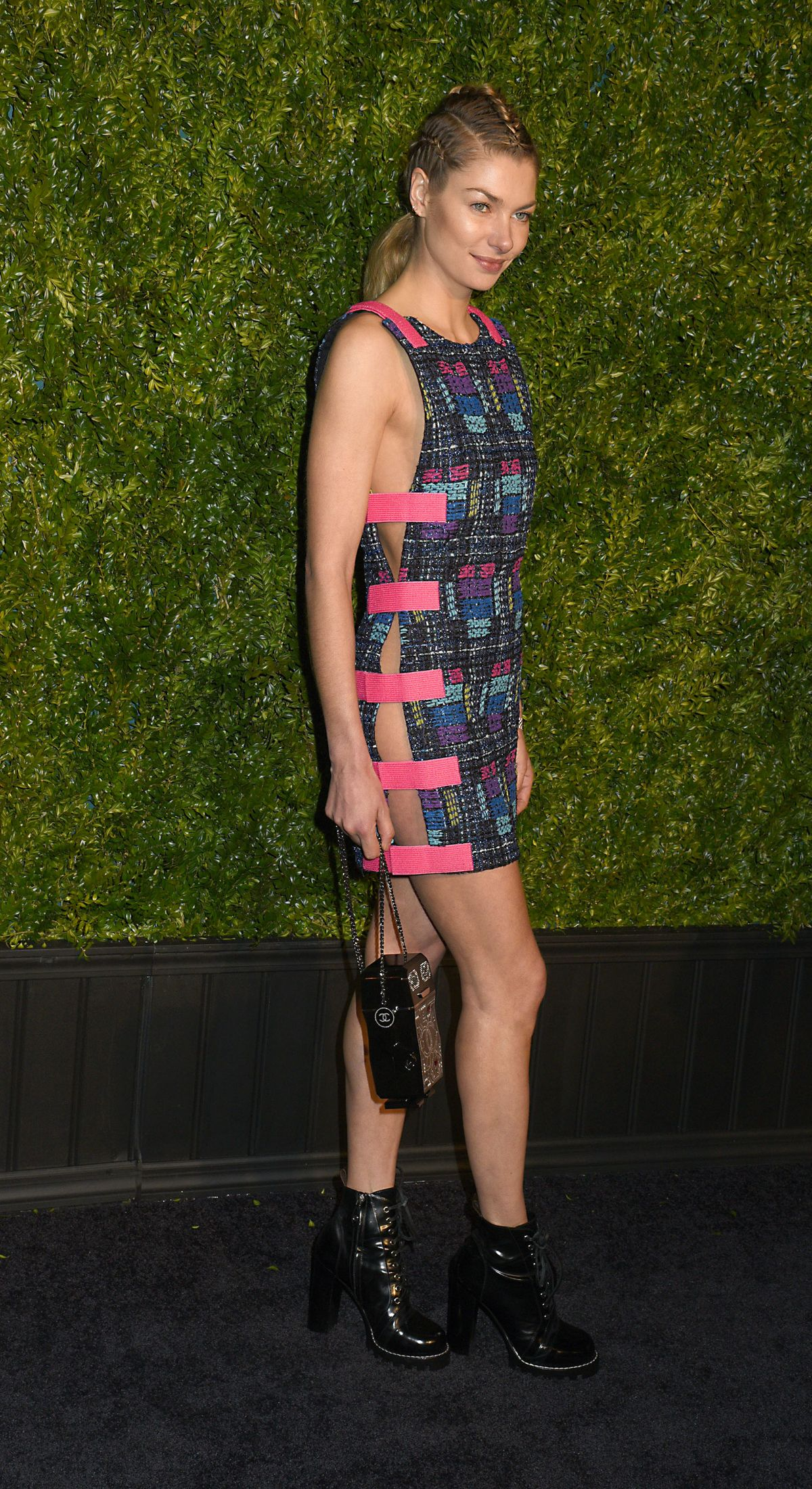 Jessica Hart At chanel artists dinner at tribeca film festival in New York  jessica-hart