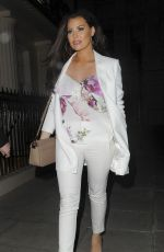 "Jessica ""Jess"" Wright Leaves New Look Pool Party Launch in London"