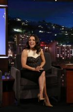 Julia Louis-Dreyfus At Jimmy Kimmel Live