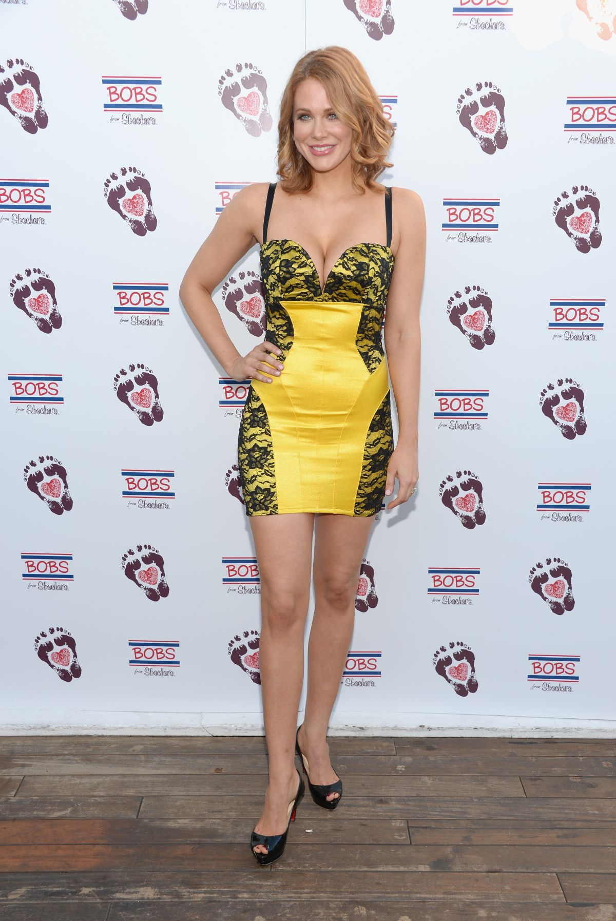 Maitland Ward In A Tight Dress Attends The Bobs From