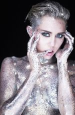 "Miley Cyrus At ""Real and True"" Photoshoot"