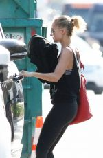 Nicole Richie Spotted leaving after a morning workout in Los Angeles