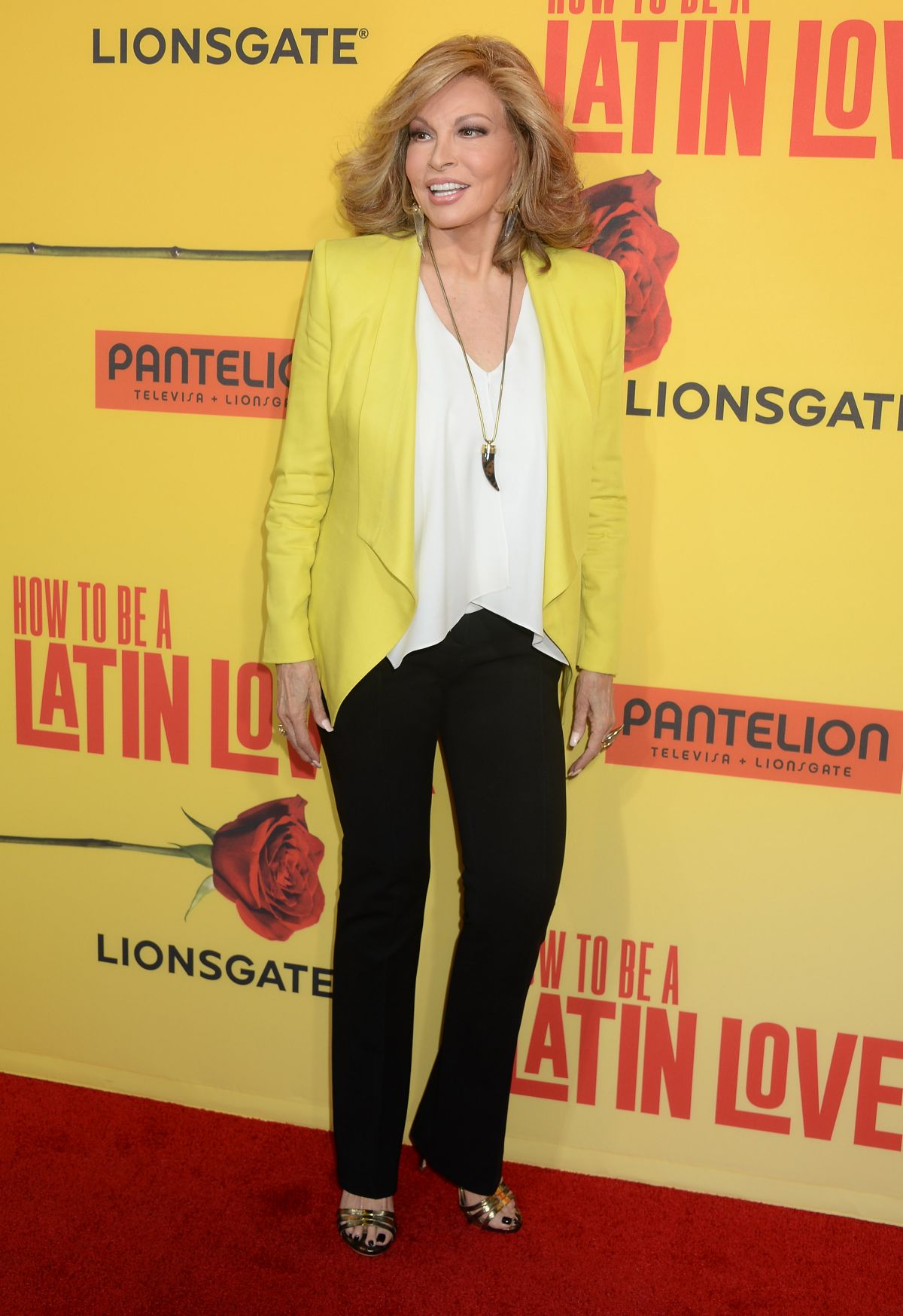 Raquel Welch At 'how To Be A Latin Lover' Premiere In Hollywood