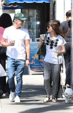 Selma Blair Out with her dog in LA