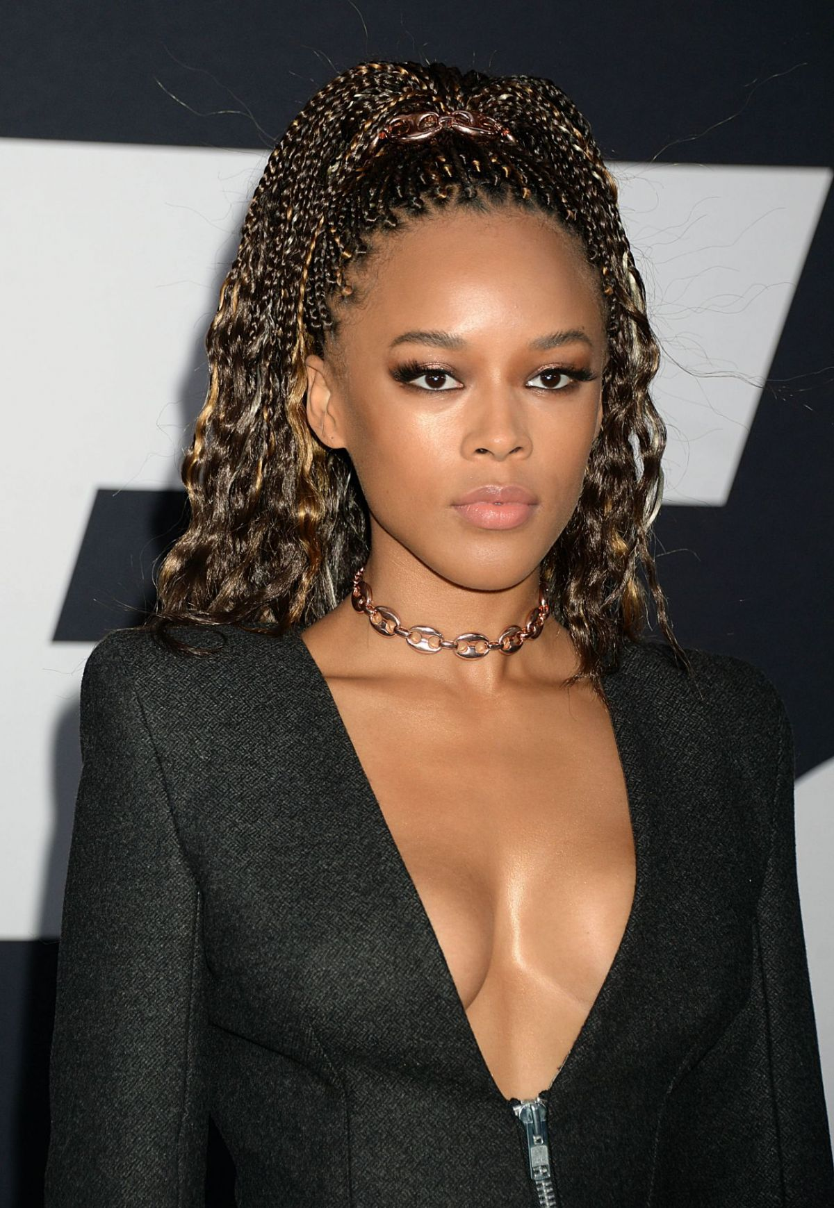 "Serayah McNeill At""Fate of the Furious"" Pemiere in New ... Jessica Chastain"