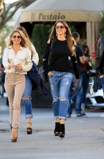 Sofia Vergara At Il Pastaio in Beverly Hills
