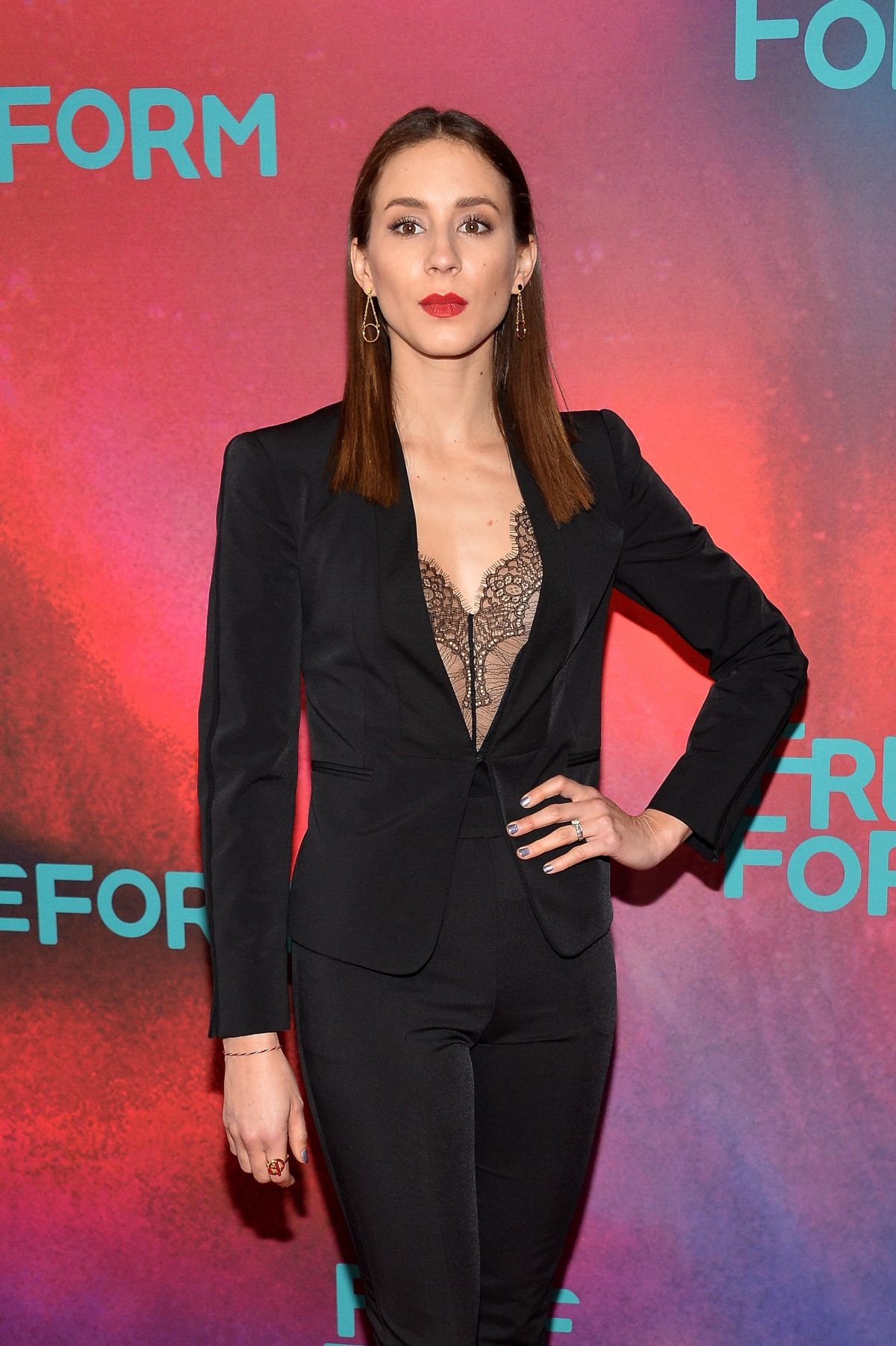 Troian Bellisario At 2017 Freeform Upfront in NYC   troian-bellisario-at-2017-freeform-upfront-in-nyc_7