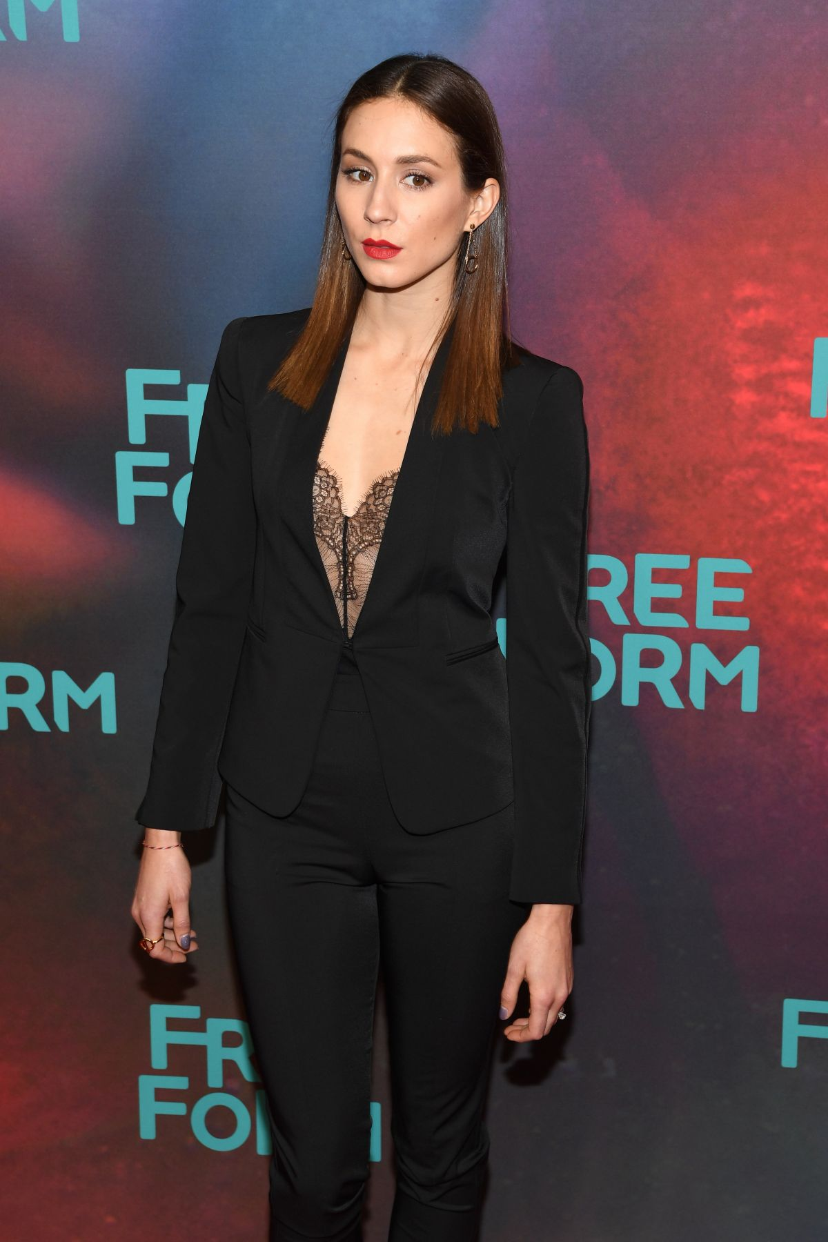 Troian Bellisario At 2017 Freeform Upfront in NYC   troian-bellisario-at-2017-freeform-upfront-in-nyc_9