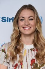 Yvonne Strahovski At SiriusXM Studios in New York