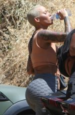 Amber Rose Out and About In LA