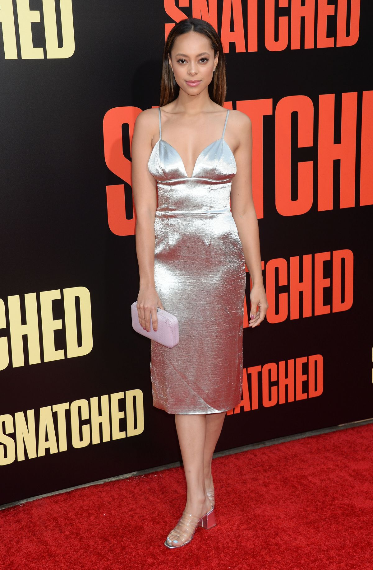Amber Stevens West At Snatched Premiere In La Hailey Baldwin