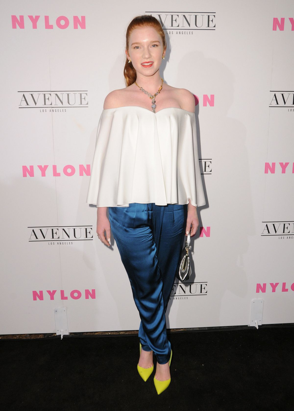 Annalise Basso At NYLON Young Hollywood Party in Los Angeles