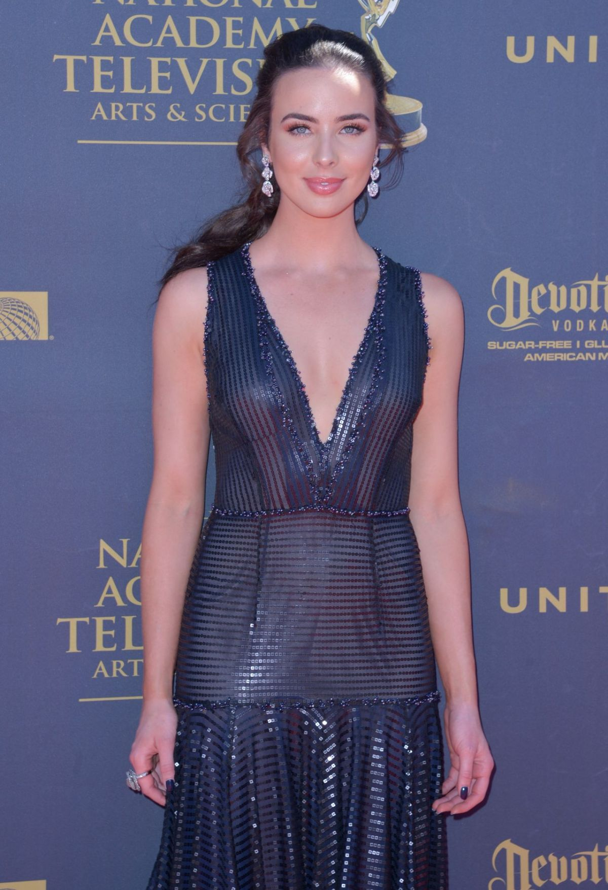 Ashleigh Brewer At Daytime Emmy Awards in Los Angeles