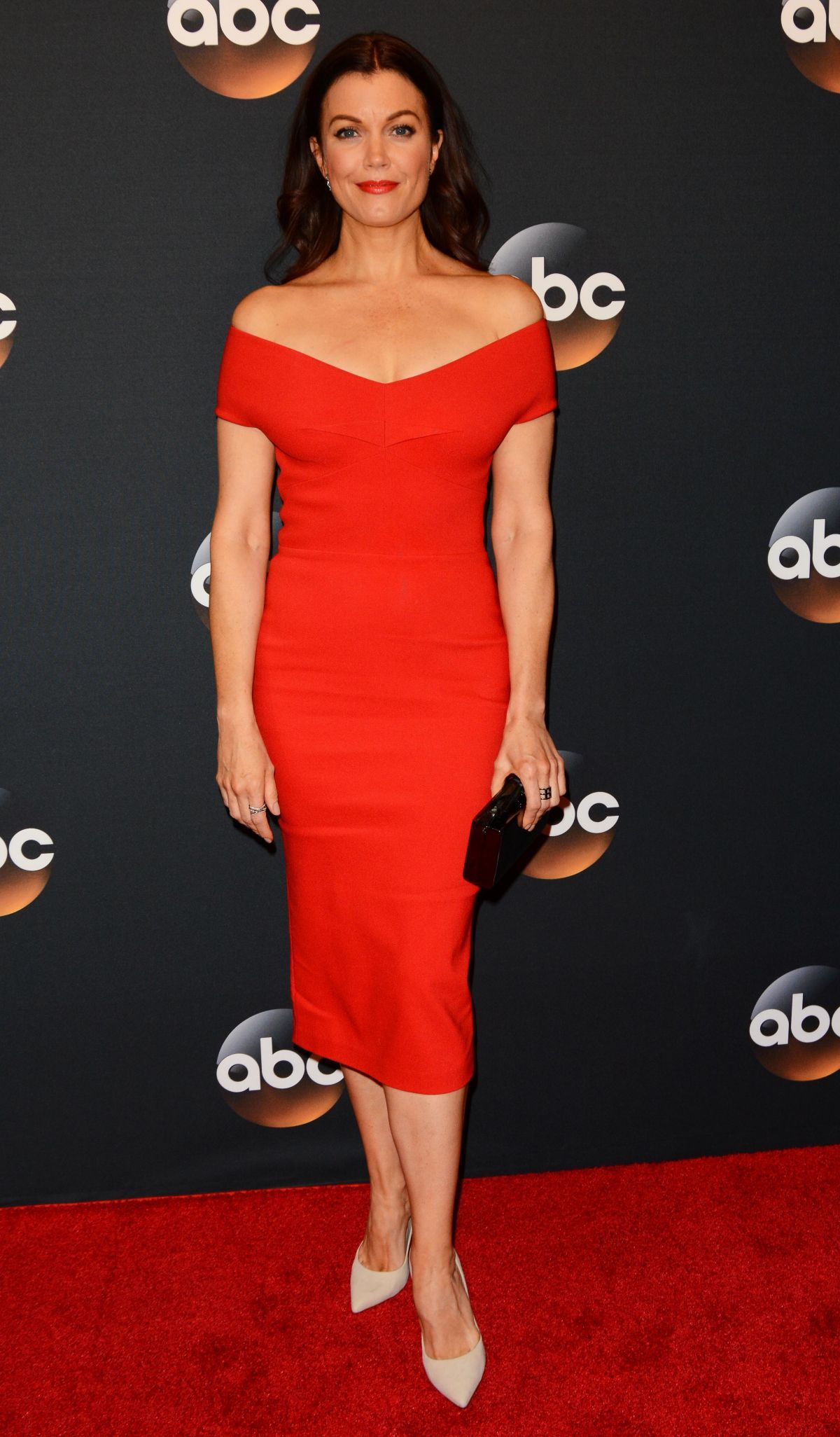 bellamy young at 2017 abc upfronts presentation in new
