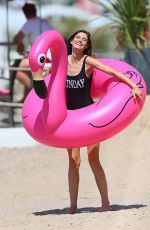 Bianca Balti In Swimsuit on the Set of a Photoshoot in Cannes