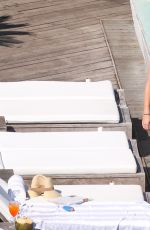 Candice Accola King At a hotel pool in Brazil