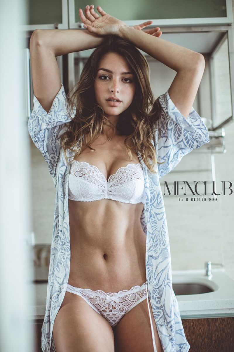 Celine Farach Looking Stunning For Mens Club Magazine HK - May-2017