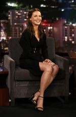 Connie Nielsen At Jimmy Kimmel Live