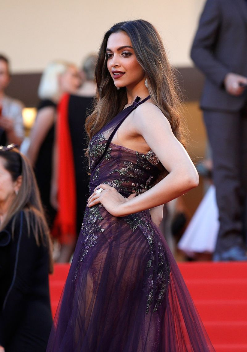 Deepika padukone at the opening ceremony of 70th cannes film festival