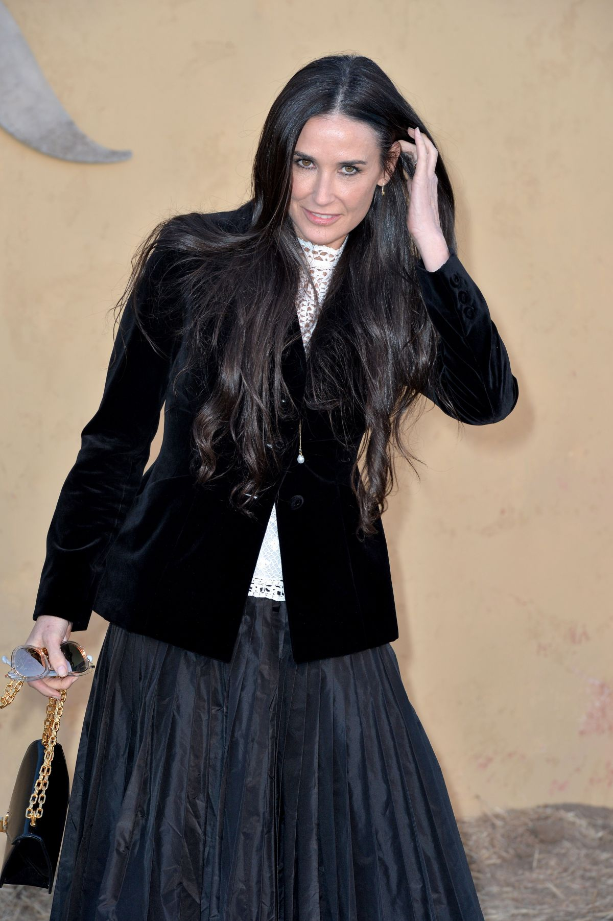 Demi Moore At The Chri...
