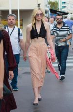 Elle Fanning Out and about in Cannes