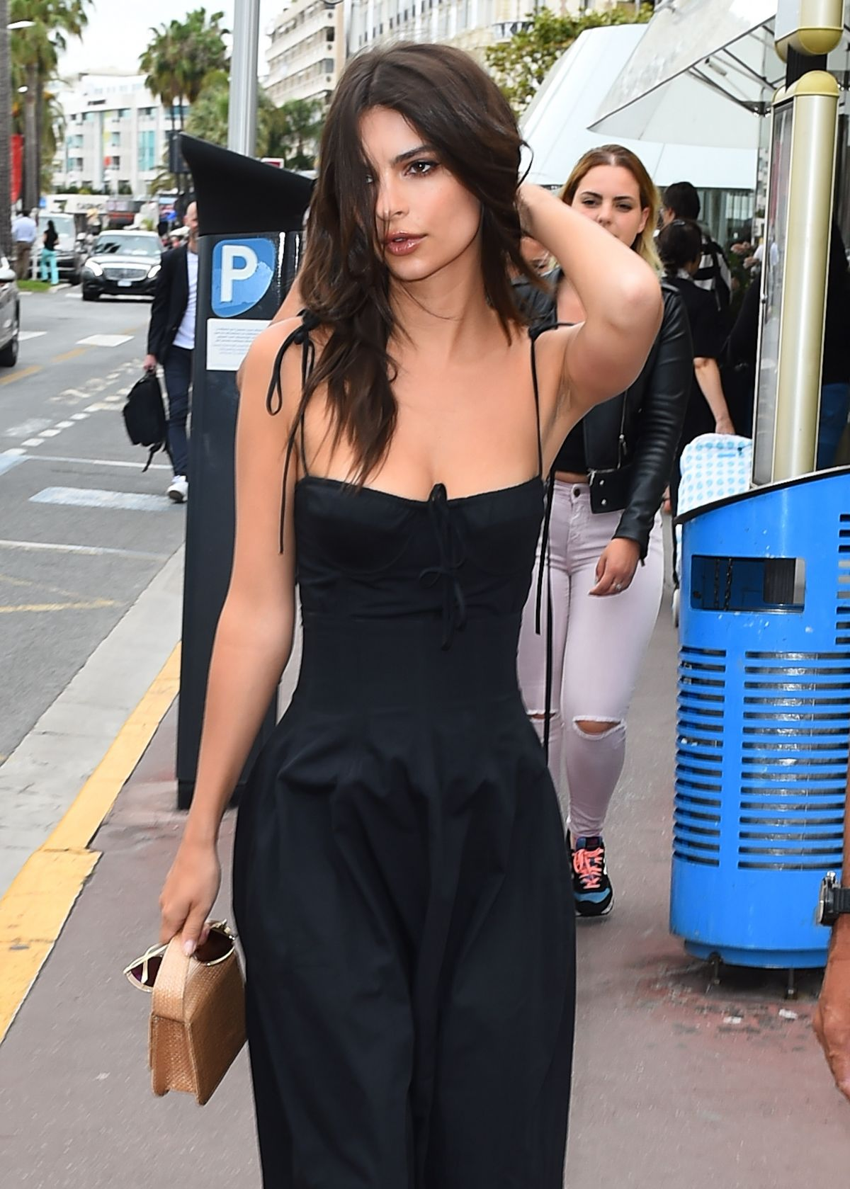 Emily Ratajkowski Out in Cannes