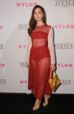 Emily Robinson At nylon young hollywood party in LA