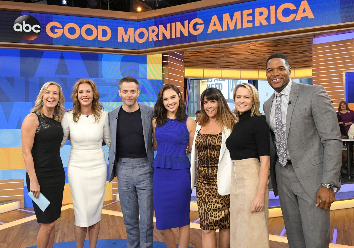 Gal Gadot In Good Morning America - Celebzz - Celebzz Good Morning America