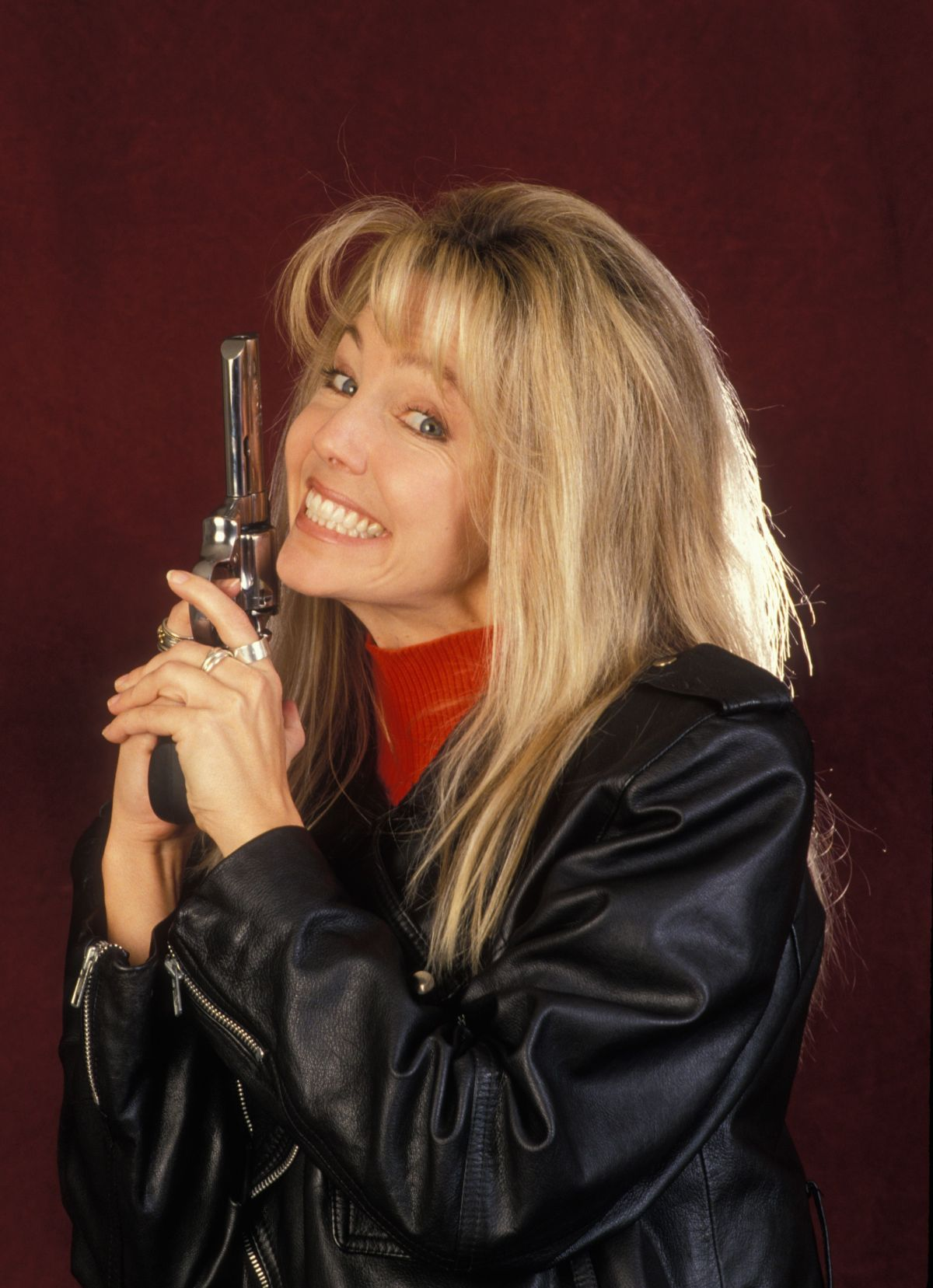 Heather Locklear 1983: Heather Locklear Promotional Photoshoot For T.J. Hooker TV