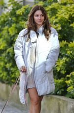 Katharine McPhee Walks Her Dogs Out in Vancouver