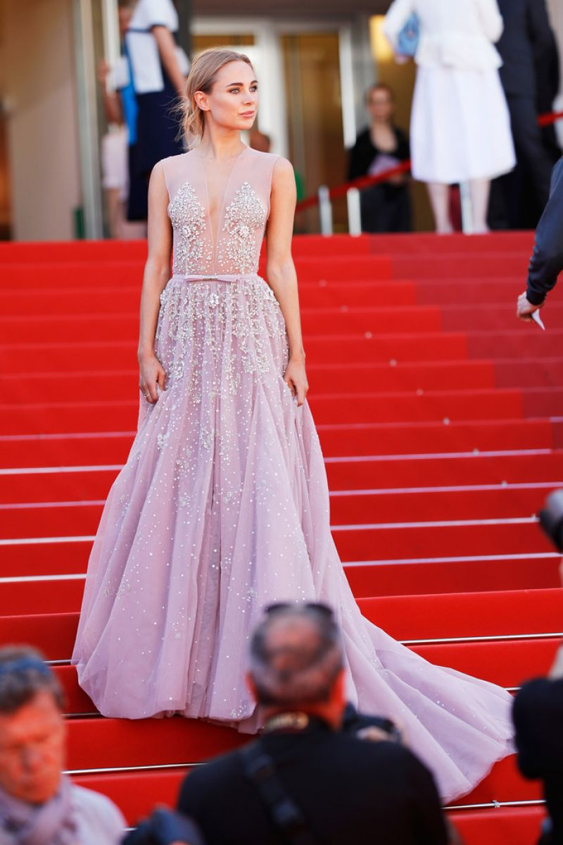 Kimberley Garner At 'how To Talk To Girls At Parties' At The 70th Cannes  Film Festival