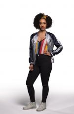 Pearl Mackie At promotional photoshoot for Doctor Who season 10