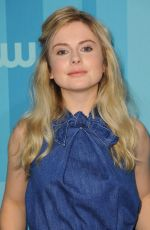 Rose McIver At The CW Network's 2017 Upfront in NYC