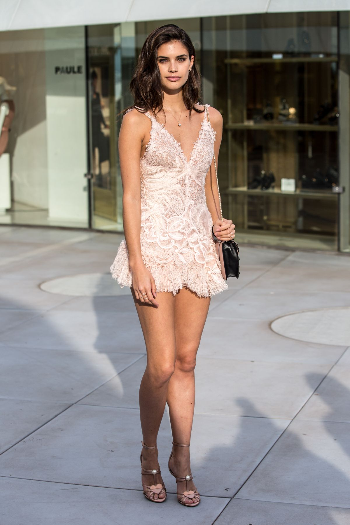 Sara Sampaio Out in Cannes