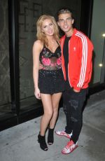 Saxon Sharbino At catch in West Hollywood