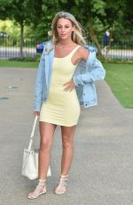 Amber Dowding Seen attending the liketoknowit app launch party at the the magazine restaurant in hyde park, London