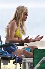 Anna Faris In Bikini on the set of Overboard Remake in Vancouver