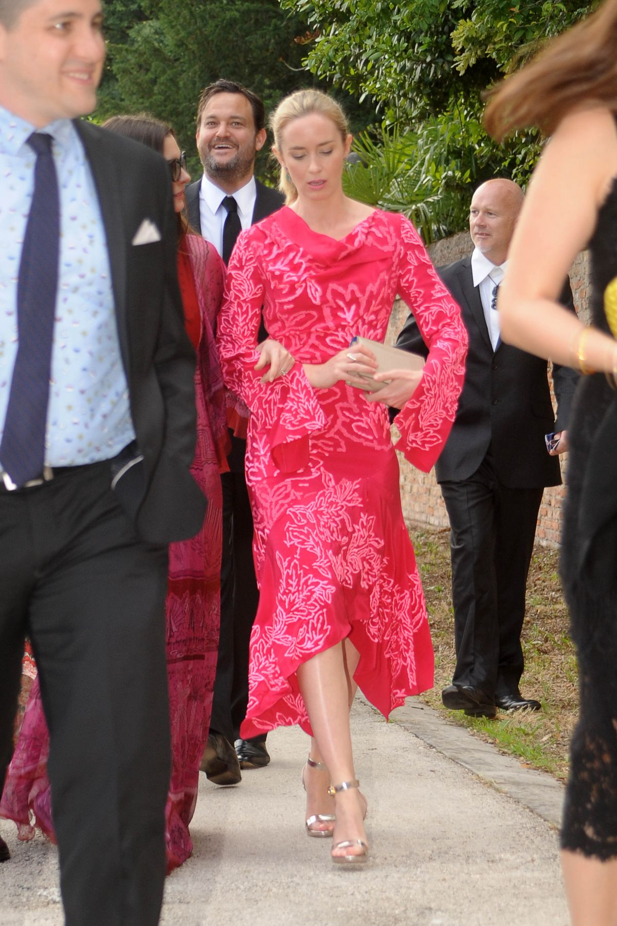 Anne Hathaway & Emily Blunt At Jessica Chastain and Gian Luca Passi ...