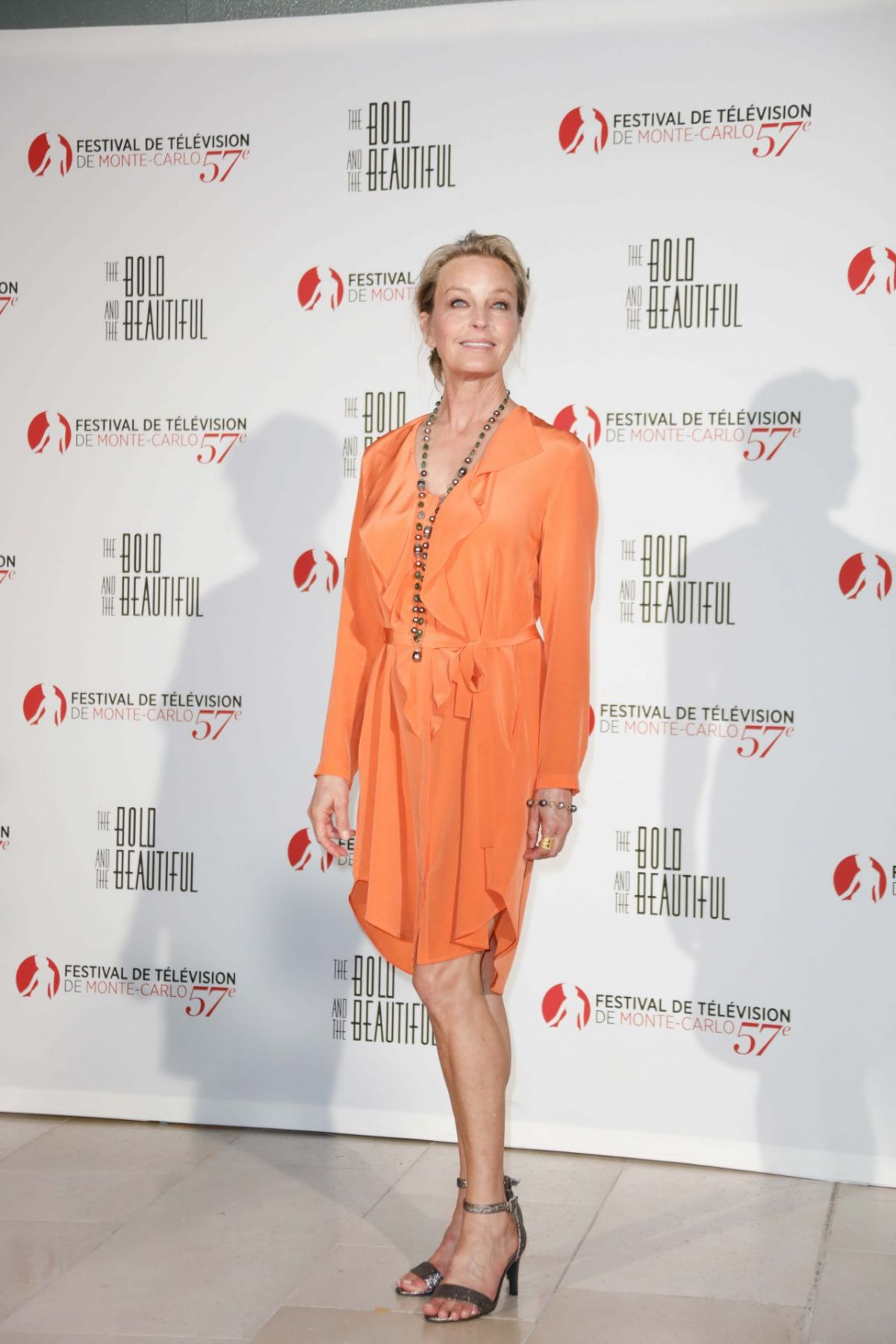 """Bo Derek At """"The Bold and the Beautiful"""" Anniversary Event at Monte Carlo TV Festival"""